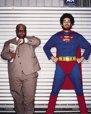 Cee Lo knows what time it is.